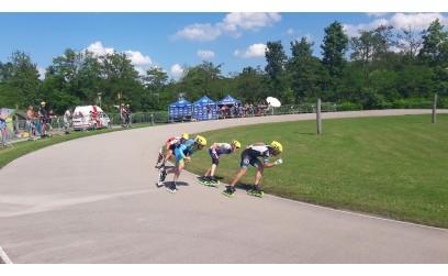 Austria Track Championship 200 m Ober-grafendorf