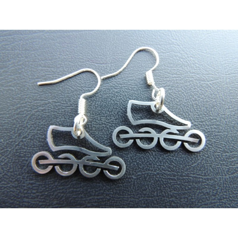 Stainless steel earrings model 1