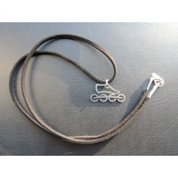 Stainless steel necklace model 1
