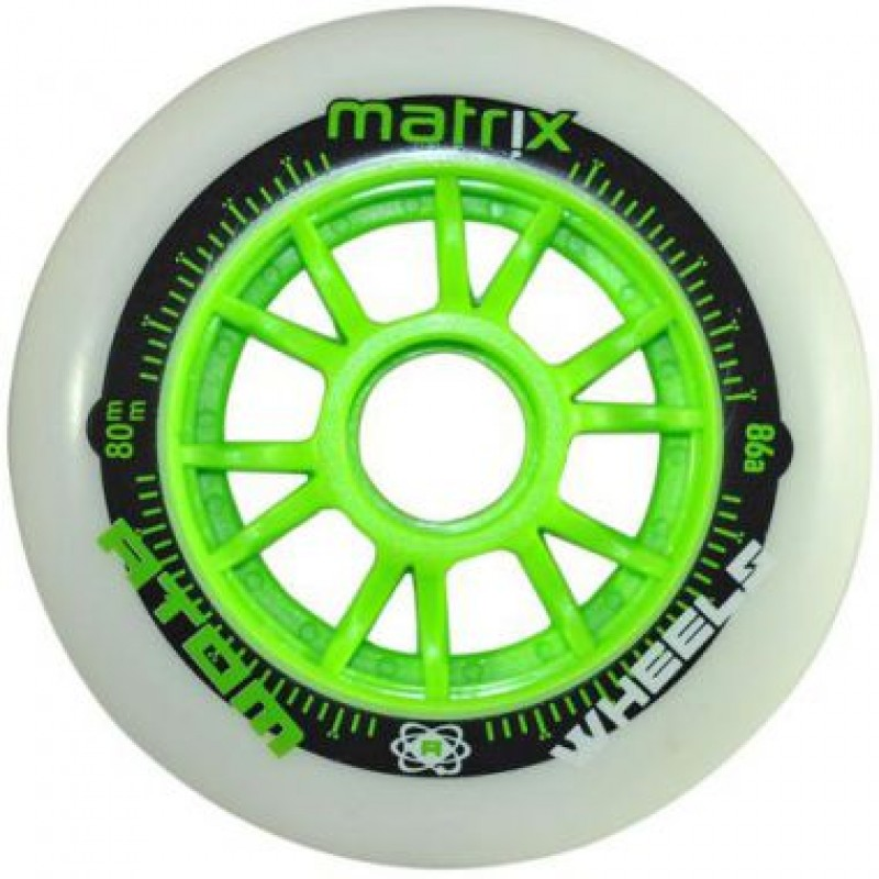 Atom Matrix 80mm 86A 1Pcs green
