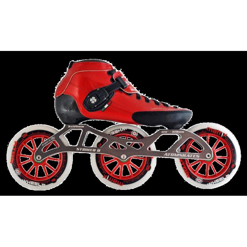 Luigino STRUT set RED 3x125mm