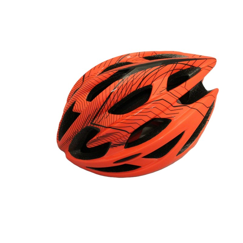 Skate-tec cycling helmet orange