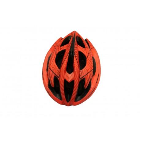 Skate-tec cycling helmet orange