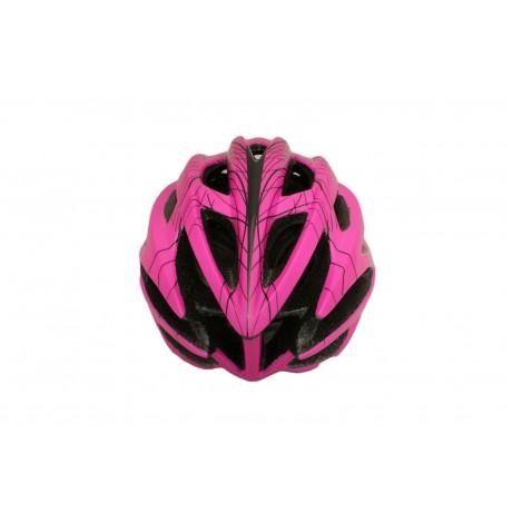 Skate-tec cycling helmet pink-magenta